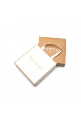 """Подарочный комплект: Коробка & Пакет """"М"""" Золото"""
