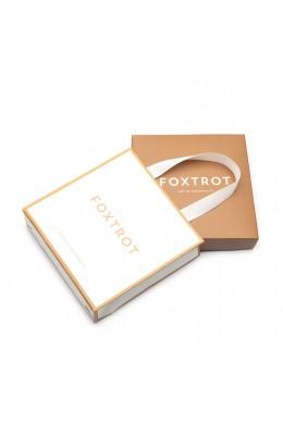"""Подарочный комплект: Коробка & Пакет """"Б"""" Золото"""