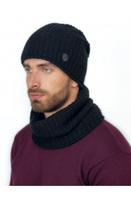 Габриэль к-т шапка+снуд мужские