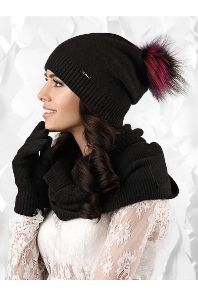 VERCELLI шапка женская