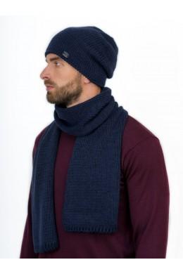 Джулиано к-т шапка+шарф мужские