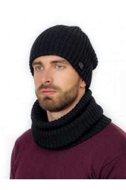 Адриано к-т шапка+снуд мужские