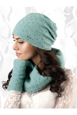 ARGENTA к-т шапка+снуд женские