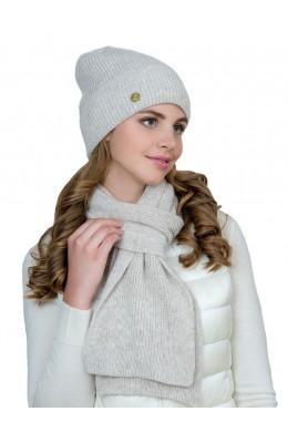 Фелиция к-т шапка+шарф женские