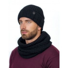 Антонио к-т шапка+снуд мужские