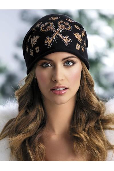 LINDA (ут.трикотаж) шапка женская