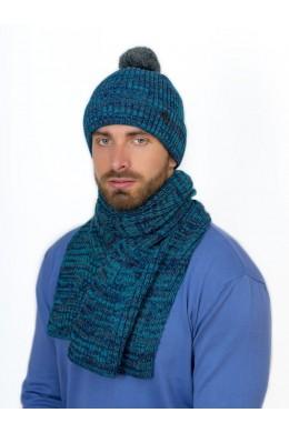 Альберто к-т шапка+шарф мужские